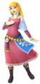 Hyrule Warriors Artwork Zelda Skyward Sword Costume.png
