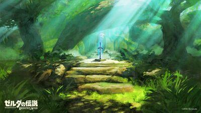 Korok Forest Zelda Dungeon Wiki