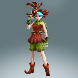 Hyrule Warriors Artwork Lana Skull Kid's Clothes.png