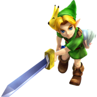 Hyrule Warriors Artwork Young Link Mask.png