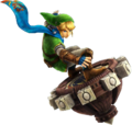 Hyrule Warriors Artwork Link Spinner.png