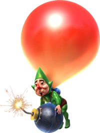 Hyrule Warriors Artwork Tingle Balloon.png