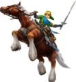 Hyrule Warriors Artwork Link Horse.png