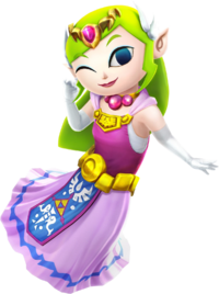 Hyrule Warriors Artwork Toon Zelda.png