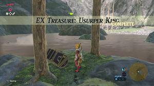 Ex Treasure Usurper King Zelda Dungeon Wiki