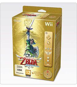 Retro paka: the legend of zelda: skyward sword limited edition.