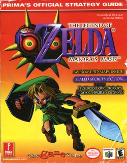 Legend of zelda: majora's mask official strategy guide: bart g.