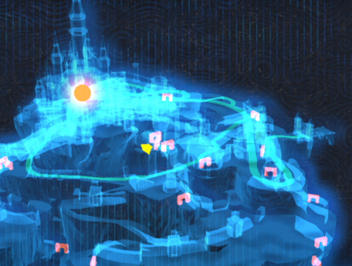 graphic about Printable Korok Seed Map identify Princess Zeldas Place - Zelda Dungeon Wiki