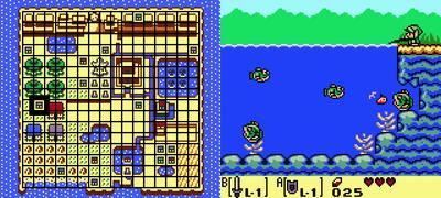 Link S Awakening Heart Pieces Game Boy Zelda Dungeon Wiki