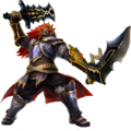Hyrule Warriors Artwork Ganondorf Great Swords.png