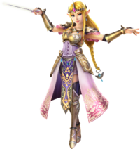 Hyrule Warriors Artwork Zelda Baton.png
