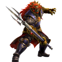 Hyrule Warriors Artwork Ganondorf Trident.png