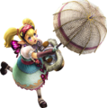 Hyrule Warriors Artwork Agitha Parasol.png