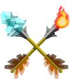 Fire & Ice Arrows (TWW).png
