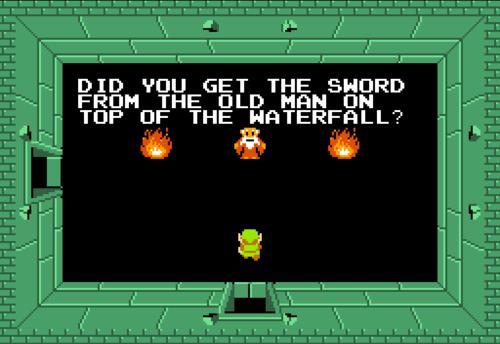 The Legend Of Zelda Old Man Quotes Zelda Dungeon Wiki