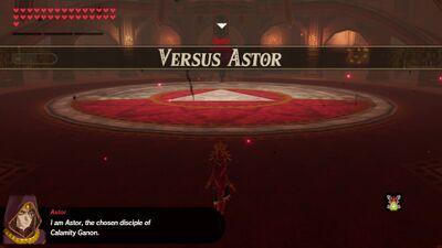 Versus Astor Zelda Dungeon Wiki