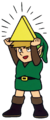 1994-Rerelease-Link-Holding-Triforce.png