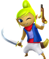Hyrule Warriors Artwork Tetra Cutlass.png