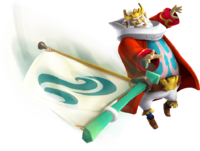 Hyrule Warriors Artwork King Daphnes Sail.png
