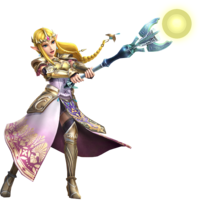 Hyrule Warriors Artwork Zelda Dominion Rod.png