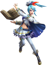Hyrule Warriors Artwork Lana Book of Sorcery.png