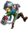 Hyrule Warriors Artwork Link Gauntlets.png