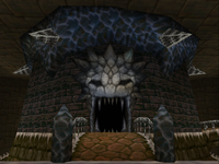 Ganon Tower entrance - OOT64.png