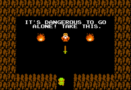 Zelda Quotes New The Legend Of Zelda Old Man Quotes  Zelda Dungeon Wiki