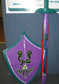 Great Fairy Sword and Shield - Felicia S.