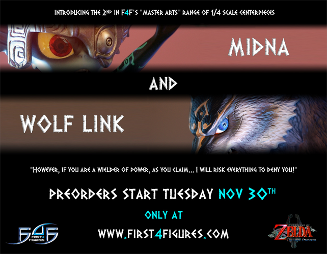 First 4 Figures: Wolf Link and Midna