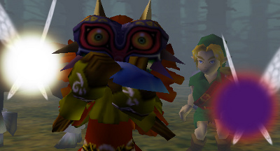 Link and the Skull Kid