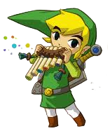 Link uses the Spirit Flute