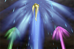 The Goddesses ascend from Hyrule