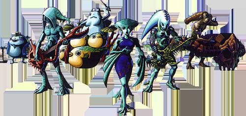 The Indigo-gos Perform in Majora's Mask