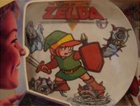 Zelda Plate