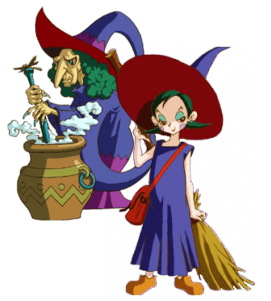 Maple and Syrup are examples of magic users in the Zelda universe.
