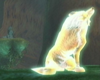 Wolf Link and the Golden Wolf howl out a song together