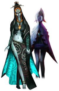 Many compare Midna's design to that of the Skyward Sword