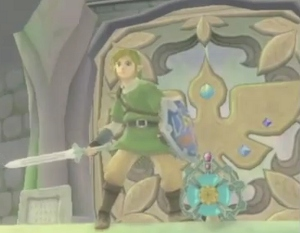 Is this dull-colored blade the Skyward Sword?
