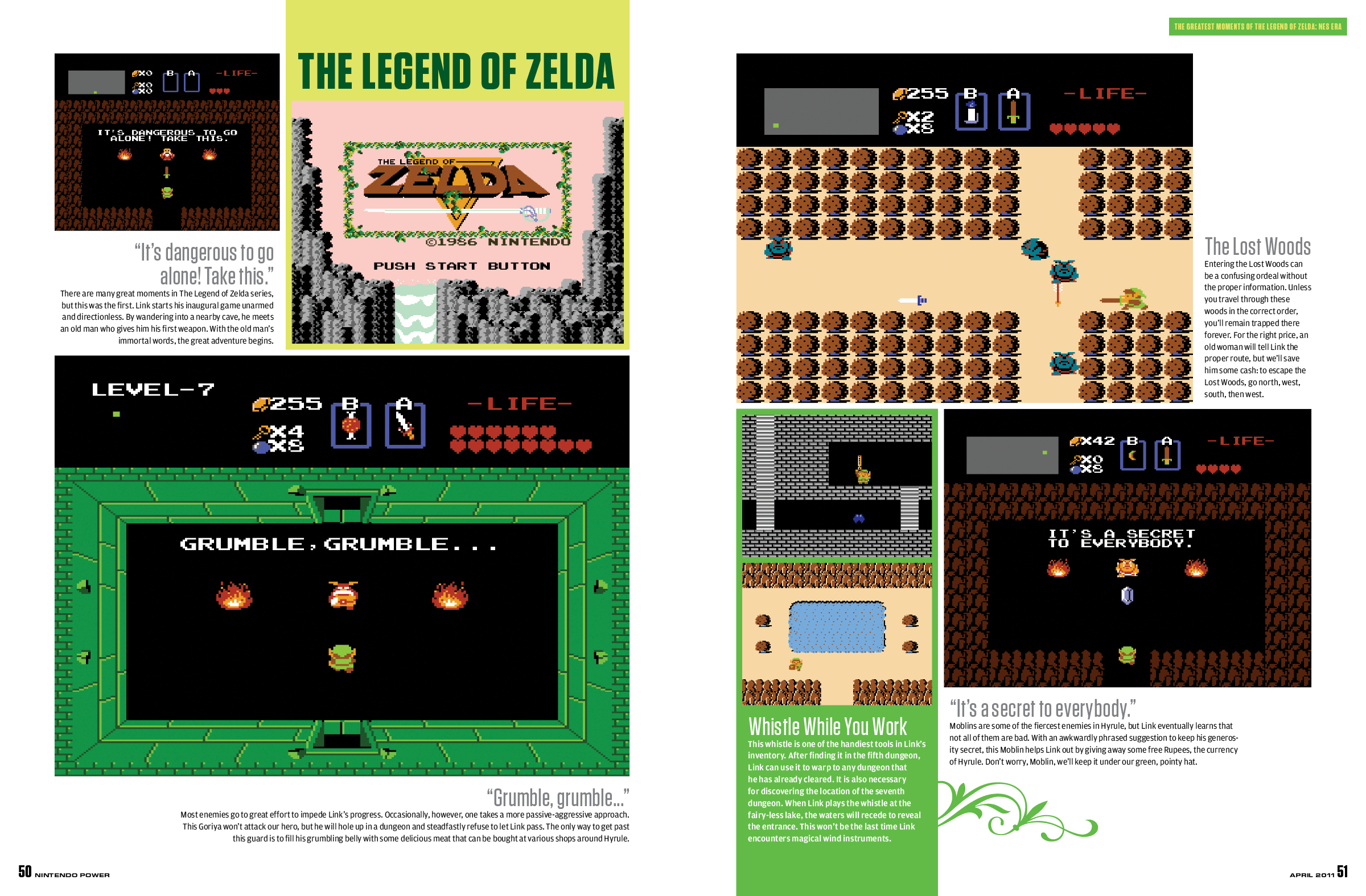 The Greatest Moments of The Legend of Zelda: NES Era