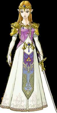 Art of Zelda from Twilight Princess