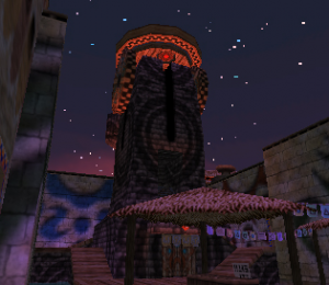 The Clock Tower from Majora's Mask