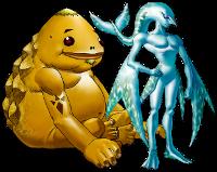 Zora and Goron