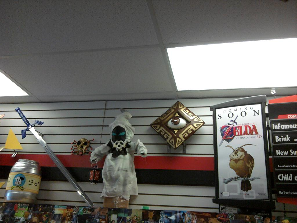 Crazy GameStop Ocarina of Time 3D Midnight Launch Party