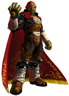 Ganondorf from Ocarina of Time 3D