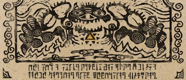 Ganon takes the Triforce
