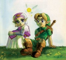 Link's Many Girlfriends in Ocarina of Time