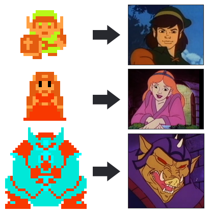 It is a miracle the animators could create complex emotional characters from a handful of pixels.