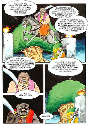 A Link to the Past Comic about Ganon's origins