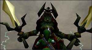 Ganon, final boss from Ocarina of Time